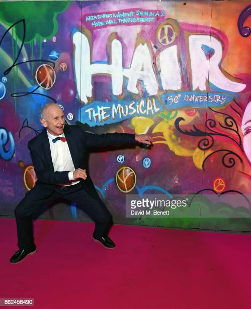 Wayne Sleep attends the 50th anniversary production of Hair The Musical at The Vaults on October 17 2017 in London England