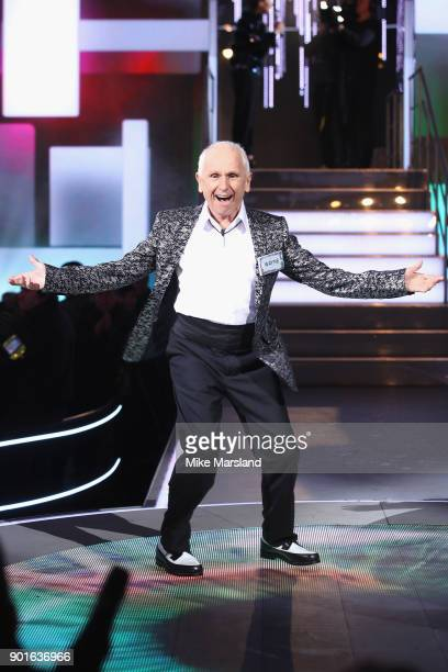 Wayne Sleep attends the Celebrity Big Brother male contestants launch night at Elstree Studios on January 5 2018 in Borehamwood England