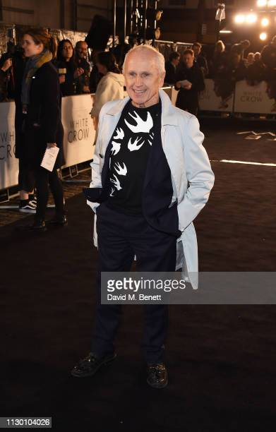 Wayne Sleep attends the UK Premiere of The White Crow at The Curzon Mayfair on March 12 2019 in London England