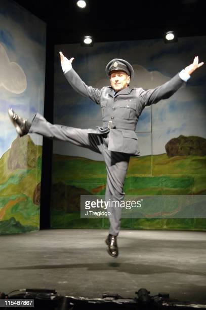 Wayne Sleep during Into Thin Air Photocall at New Players Theatre in London Great Britain