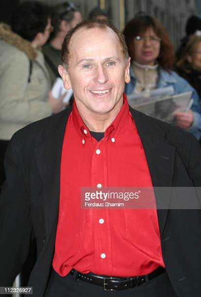 Wayne Sleep during Movin' Out London Premiere Outside Arrivals at Apollo Victoria Theatre in London Great Britain