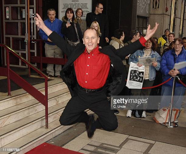 Wayne Sleep during Movin' Out West End Opening Night at Apollo Victoria in London Great Britain