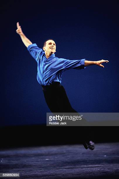 Wayne Sleep performs in Tribute to Diana which is a remembrance of his duet with the Princess of Wales