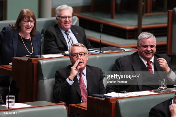 Wayne Swan during House of Representatives question time at Parliament House on October 25 2017 in Canberra Australia The Sydney and Melbourne...