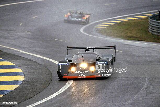 Wayne Taylor in a BRM P351 racing at Le Mans 24 Hours France June 1992