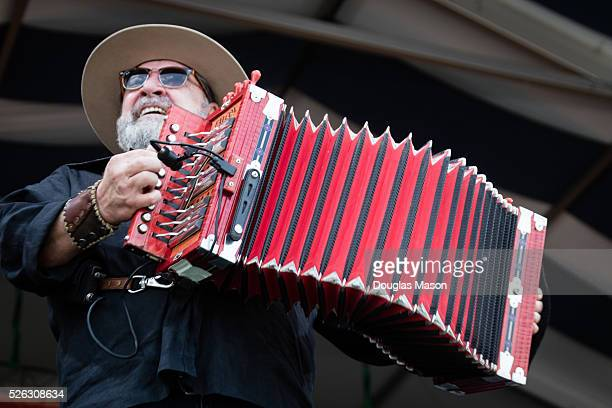 Wayne Toups performs during the New Orleans Jazz & Heritage Festival 2016 at Fair Grounds Race Course on April 29, 2016 in New Orleans, Louisiana.
