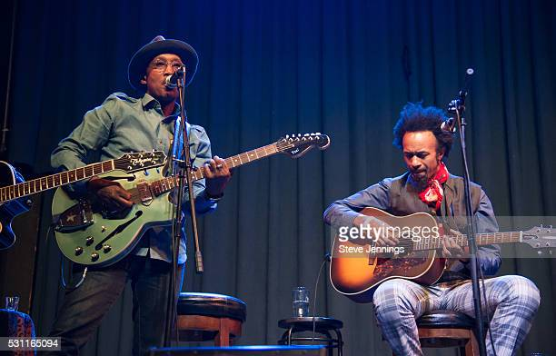 D'Wayne Wiggins and Fantastic Negrito perform at the GRAMMY Pro Songwriters Summit at The Uptown on May 12 2016 in Oakland California