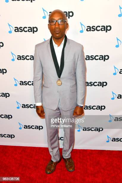 D'wayne Wiggins attends the 31st Annual Rhythm and Soul Music Awards Arrivals at the Beverly Wilshire Four Seasons Hotel on June 21 2018 in Beverly...