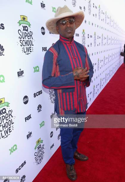 Wayne Wiggins attends XQ Super School Live presented by EIF at Barker Hangar on September 8 2017 in Santa California