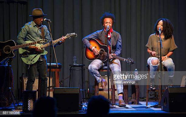 D'Wayne Wiggins Fantastic Negrito and GRAMMY Amplifier winner Kirby Maurier perform at the GRAMMY Pro Songwriters Summit at The Uptown on May 12 2016...