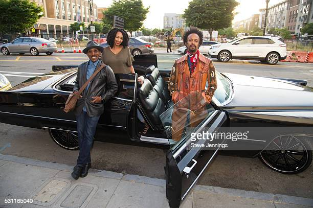 D'Wayne Wiggins Kirby Maurier and Fantastic Negrito pose at the GRAMMY Pro Songwriters Summit at The Uptown on May 12 2016 in Oakland California
