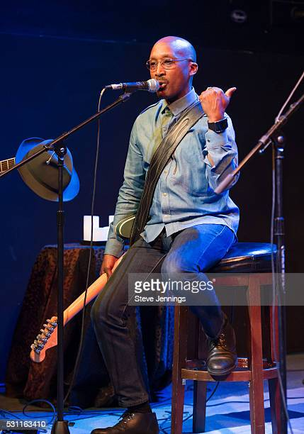 Wayne Wiggins performs at the GRAMMY Pro Songwriters Summit at The Uptown on May 12 2016 in Oakland California