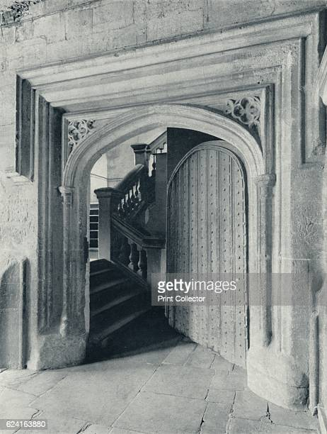 Waynflete's North Door with the SeventeenthCentury Stairs to Upper School and Antechapel' 1926 Eton College is a boarding independent school for boys...
