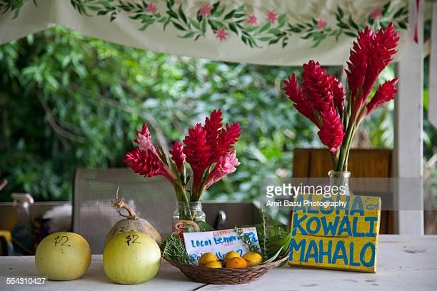 Wayside shop in Hana, Maui