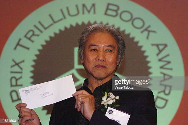 AWARD 4/27/05 Wayson Choy is the recipient of this years Trillium annual provincial literary prize finalists this year are Shaughnessy BishopStall...