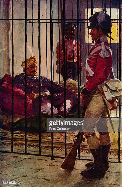 Wazir Ali in Prison' c1799 Wazir Ali Khan assembled a rebellious army of several thousand men A quickly assembled force commanded by General Erskine...
