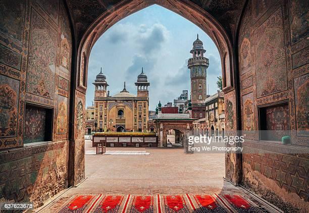 Wazir Khan Mosque, Lahore, Punjab, Pakistan
