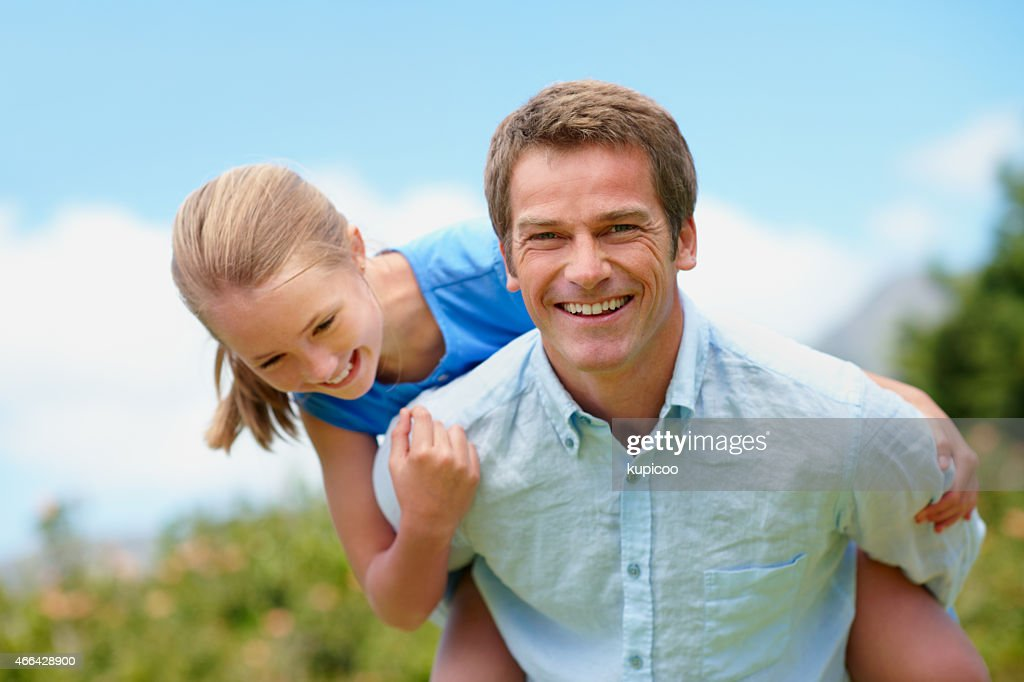 We always have a laugh together : Stock Photo