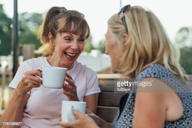 we always share a laugh - 60 64 years stock pictures, royalty-free photos & images