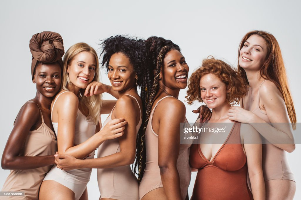 We are different and that's what makes us beautiful : Stock Photo