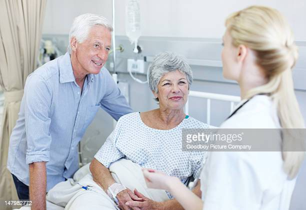 Wir sind äußerst zufrieden mit der Behandlung Sie erhalten