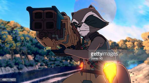 """We Are Family"""" - Rocket is abducted and taken back to his home planet, Half World, where he gets caught up in a revolution of evolved former test..."""