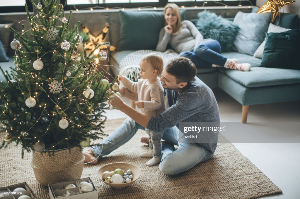 We are ready for Christmas : Stock Photo