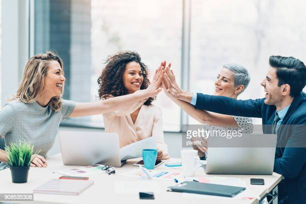we are the best team! - bonding stock pictures, royalty-free photos & images