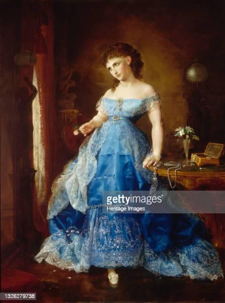 We Both Must Fade , 1869. Artist Lilly Martin Spencer.