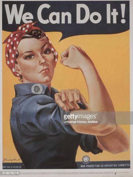 We Can Do It Employment Recruitment Poster during World War II 1942