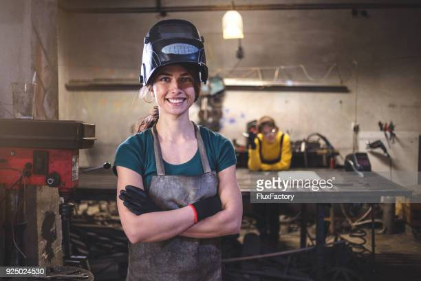 we can do it - welding stock photos and pictures
