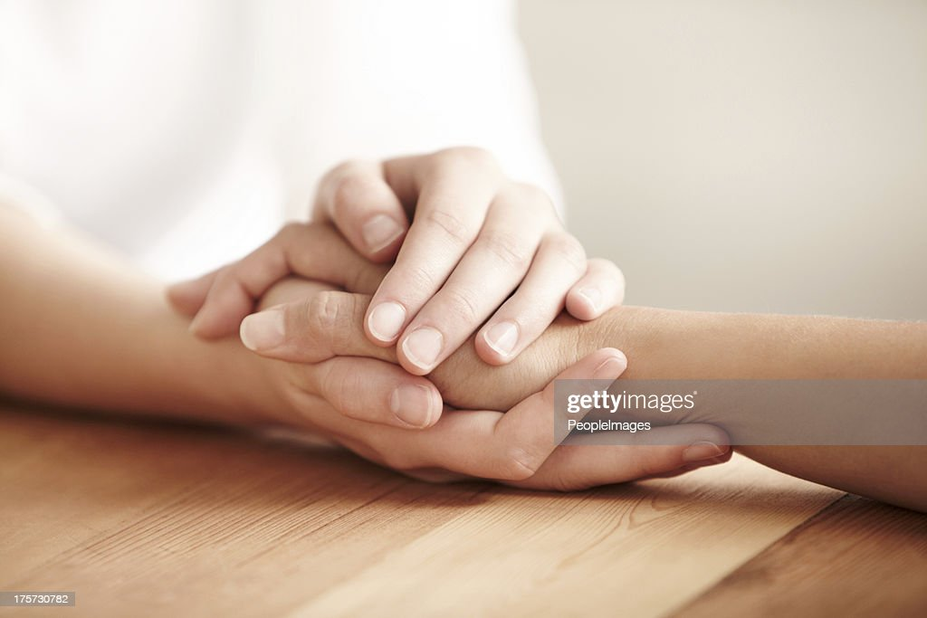 We can get through this together : Stock Photo