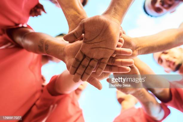 we can only win if we work together - football team stock pictures, royalty-free photos & images