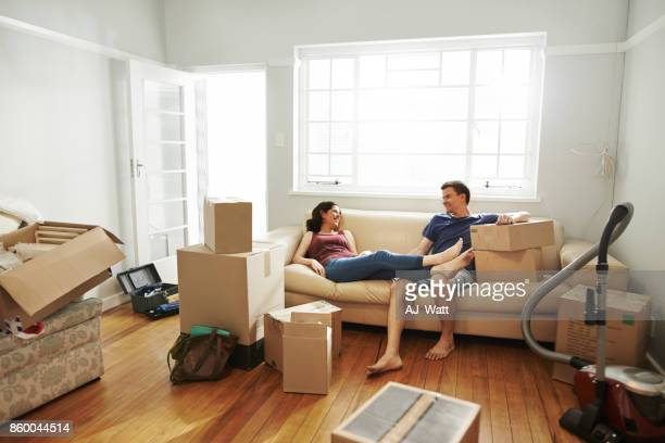 we chose a place we feel comfortable in - belongings stock photos and pictures