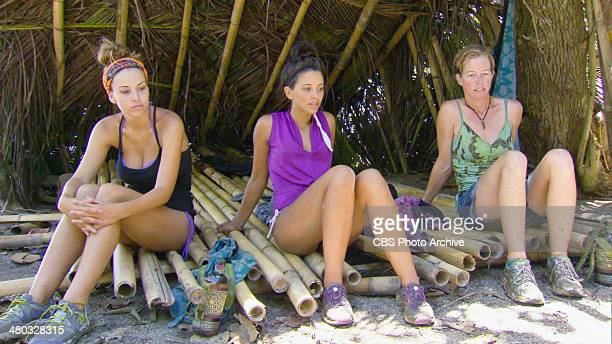 We Found Our Zombies Morgan McLeod Alexis Maxwell and Kassandra Kass McQuillen during the fifth episode of SURVIVOR CAGAYAN Wednesday March 26 on the...