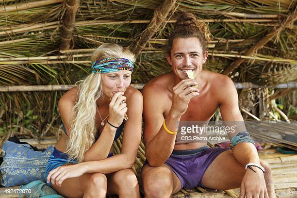 We Got A Rat Kelley Wentworth and Joe Anglim during the third episode of SURVIVOR Wednesday Oct 7 The new season in Cambodia themed Second Chance...