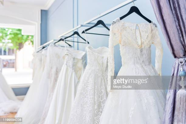 we have a variety of wedding dresses - wedding dress stock pictures, royalty-free photos & images