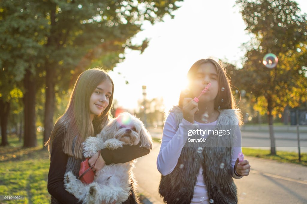 We have fun together : Stock Photo