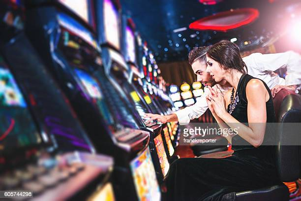 we have win the jackpot at the casino - casino stock pictures, royalty-free photos & images
