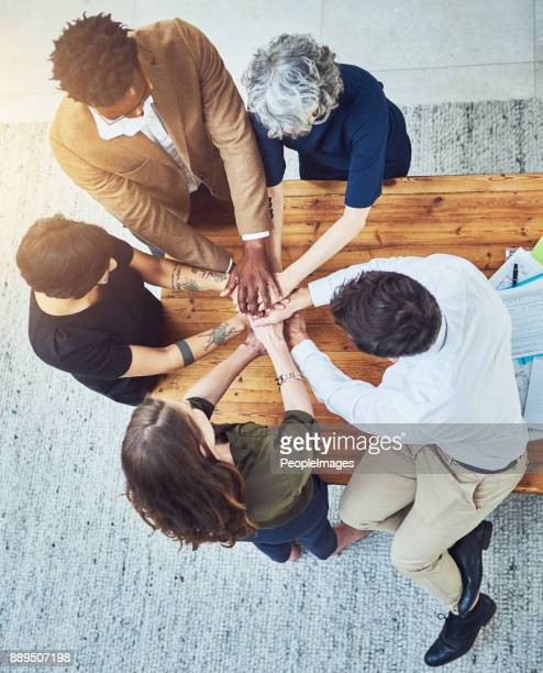 we in this business together - pep talk stock pictures, royalty-free photos & images