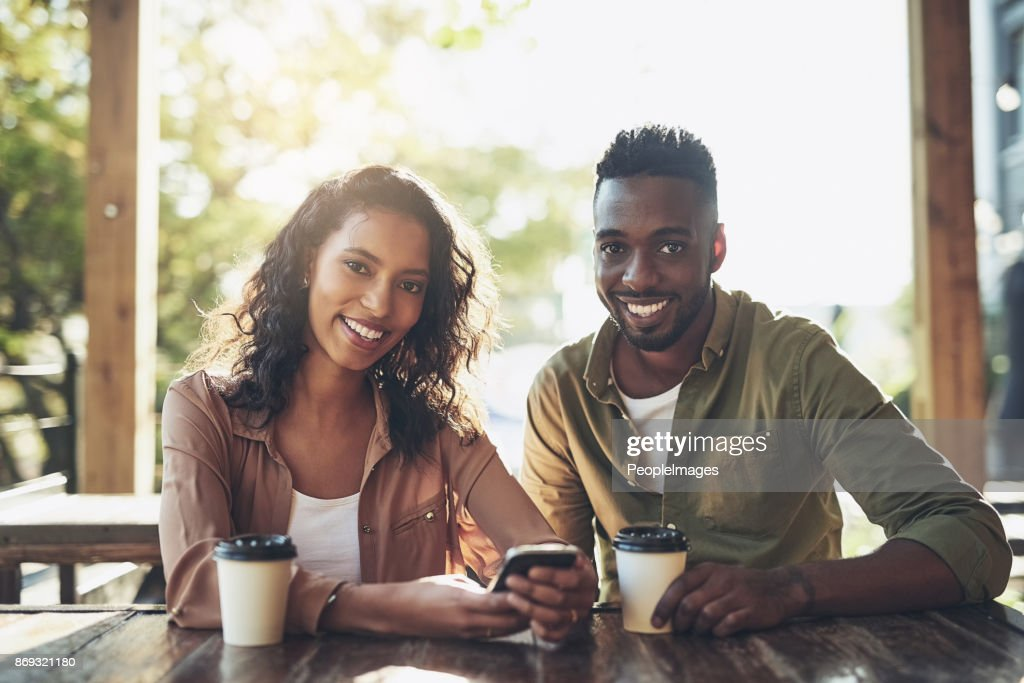 We just love coffee shops with good coffee : Stock Photo