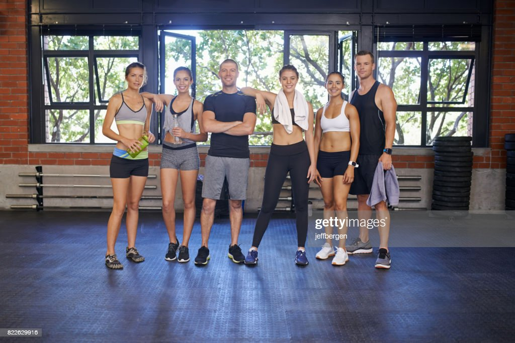 We love a good workout : Stock Photo