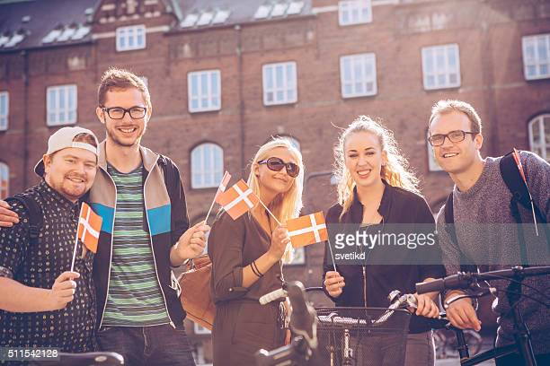 we love denmark - danish culture stock pictures, royalty-free photos & images