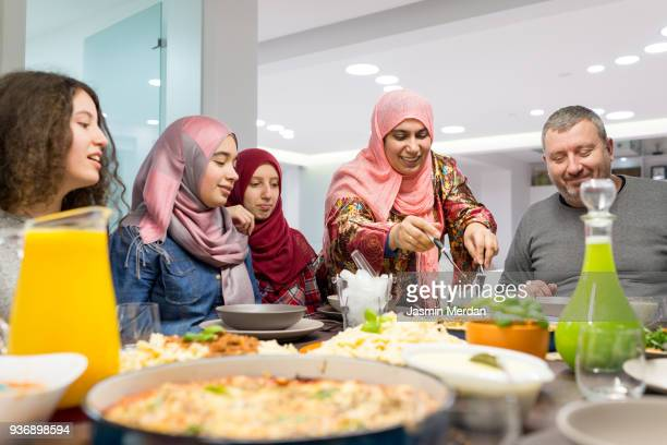 we love food together - iftar stock pictures, royalty-free photos & images