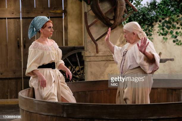 WILL GRACE We Love Lucy Episode 316 Pictured Megan Mullally as Karen Walker/Lucy Leslie Jordan as Beverly Leslie