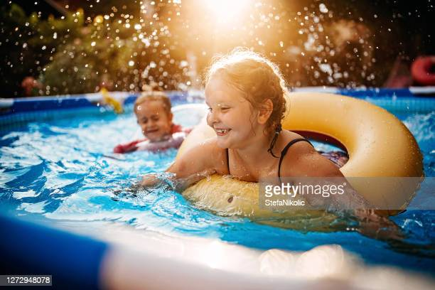 we love summer - swimming pool stock pictures, royalty-free photos & images