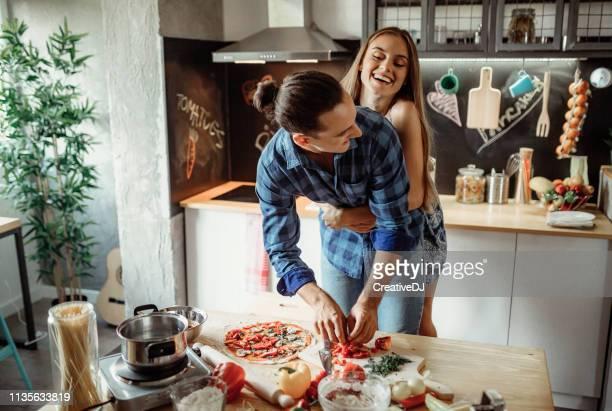 Wir lieben es, gemeinsam zu kochen