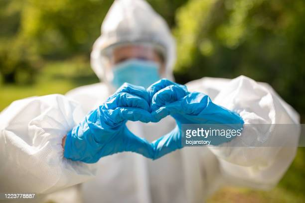 we love you, stay at home - frontline worker stock pictures, royalty-free photos & images