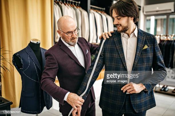 we made it right for you - menswear stock pictures, royalty-free photos & images