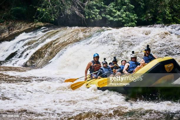 nós fizemos isso sem muita dificuldade - rafting em águas selvagens - fotografias e filmes do acervo